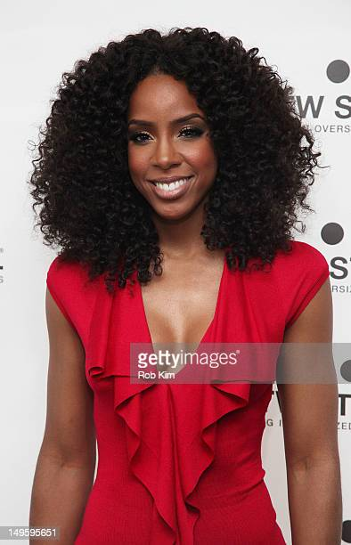 Kelly Rowland attends the TW Steel Kelly Rowland Special Edition Collection launch celebration at The Standard Hotel on July 31 2012 in New York City