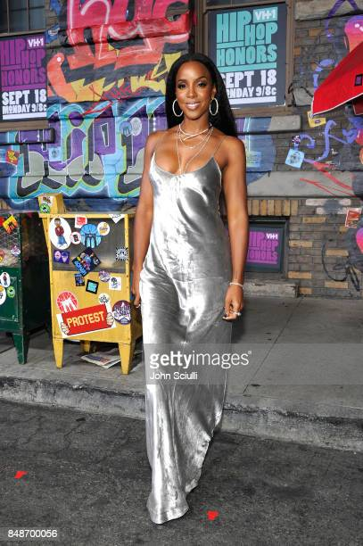 Kelly Rowland attends VH1 Hip Hop Honors The 90s Game Changers at Paramount Studios on September 17 2017 in Los Angeles California