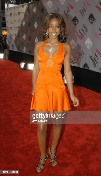 Kelly Rowland during 2003 MTV Video Music Awards Arrivals at Radio City Music Hall in New York City New York United States