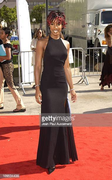 Kelly Rowland during The 8th Annual Soul Train 'Lady Of Soul' Awards Arrivals at Pasadena Civic Auditorium in Pasadena California United States