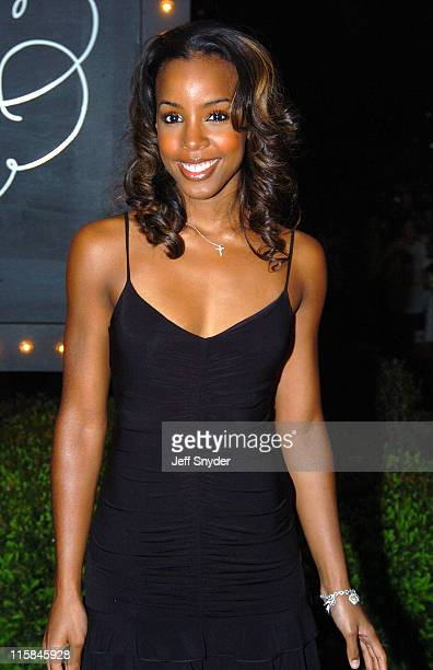 Kelly Rowland during The Barnstable Brown Party at Private Residence in Louisville KY