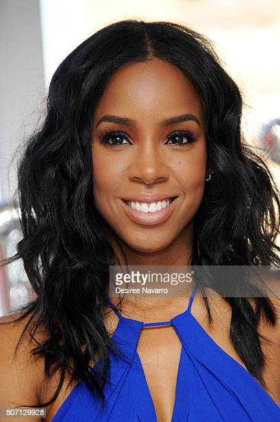Kelly Rowland hosts Seagram's Escapes Signature Collection Launch at The London Hotel on January 27 2016 in New York City