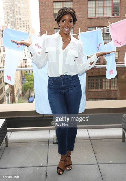 Kelly Rowland hosts the #Amazinghood Campaign Lunch at Gansevoort Park Avenue on May 6 2015 in New York City