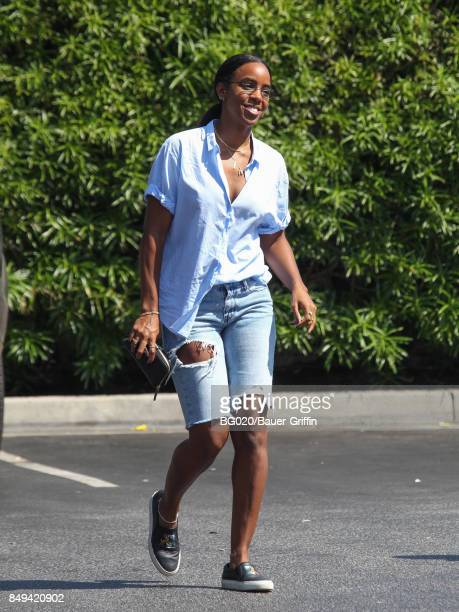 Kelly Rowland is seen on September 18 2017 in Los Angeles California