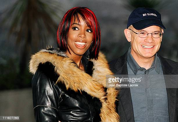 Kelly Rowland of Destiny's Child and Bill Roedy Chairman of MTV Network International