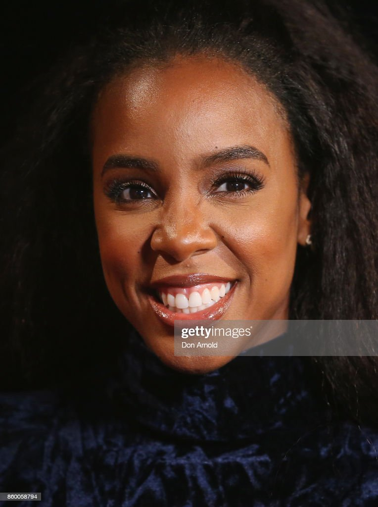 Kelly Rowland poses during the Channel Nine Upfronts 2018 event on October 11, 2017 in Sydney, Australia.