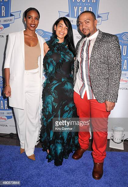 Kelly Rowland Timbaland and Monique Mosley attend the 2015 Boys and Girls Clubs of America National Youth of the Year celebration at the National...