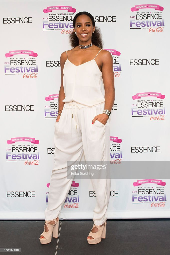 Kelly Rowland visits the press room at the 2015 Essence Music Festival on July 3, 2015 in New Orleans, Louisiana.