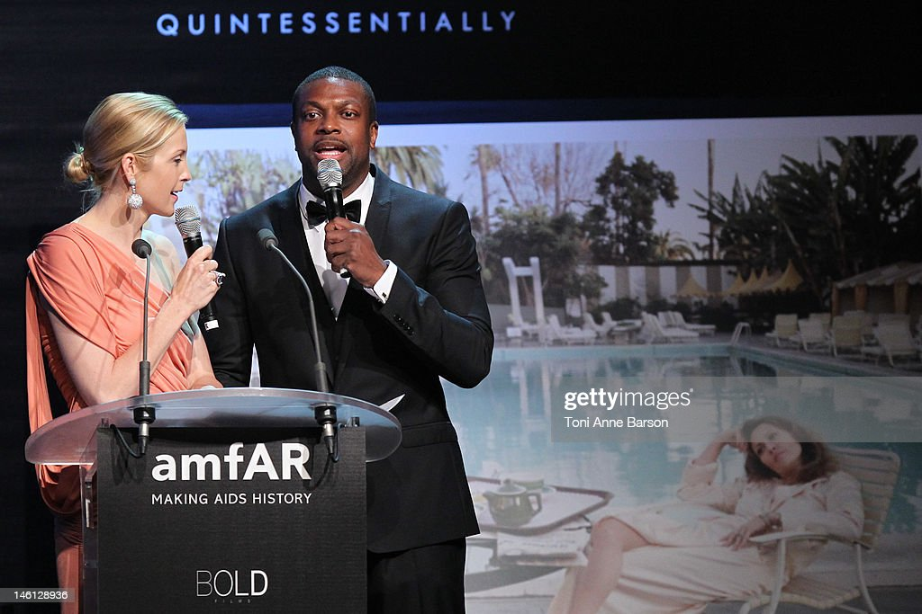 <a gi-track='captionPersonalityLinkClicked' href=/galleries/search?phrase=Kelly+Rutherford&family=editorial&specificpeople=217987 ng-click='$event.stopPropagation()'>Kelly Rutherford</a> and <a gi-track='captionPersonalityLinkClicked' href=/galleries/search?phrase=Chris+Tucker&family=editorial&specificpeople=203254 ng-click='$event.stopPropagation()'>Chris Tucker</a> attend amfAR's Cinema Against AIDS auction at Hotel Du Cap on May 24, 2012 in Antibes, France.