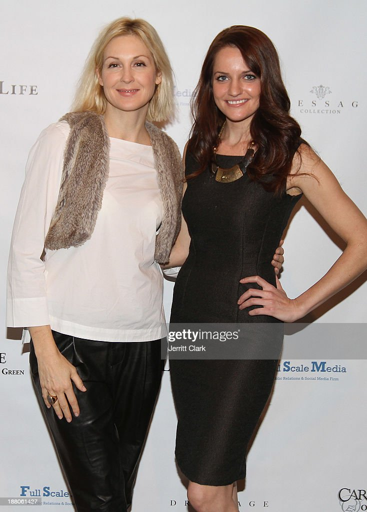 <a gi-track='captionPersonalityLinkClicked' href=/galleries/search?phrase=Kelly+Rutherford&family=editorial&specificpeople=217987 ng-click='$event.stopPropagation()'>Kelly Rutherford</a> and Kate Stoltz attends the Social Life Magazine Luxe Manhattan Event on November 13, 2013 in New York City.