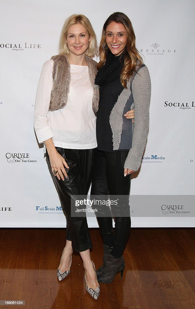 KellY Rutherford and Lindsi Lane attends the Social Life Magazine Luxe Manhattan Event on November 13, 2013 in New York City.