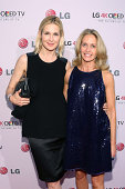 Kelly Rutherford and Liz Hopfan attend the 2014 Art Of The Pixel Gala at Gotham Hall on September 17 2014 in New York City