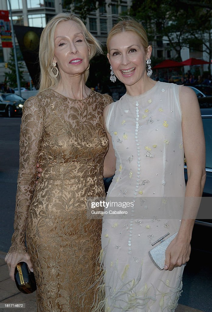 Kelly Rutherford and mother Ann Edwards is seen New York on September 23, 2013 in New York City.