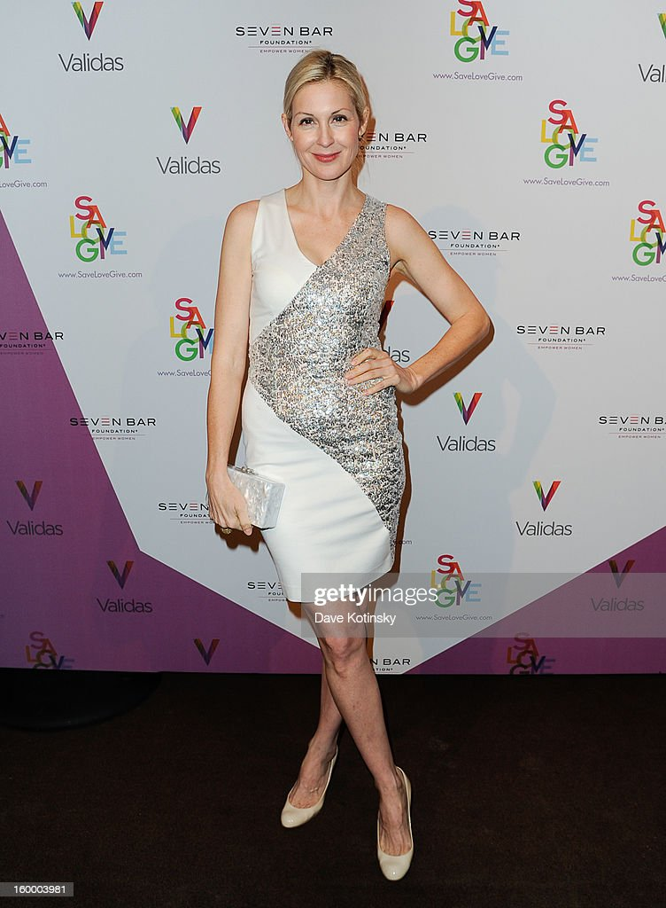 Kelly Rutherford at Ambassadors River View at the United Nations on January 24, 2013 in New York City.