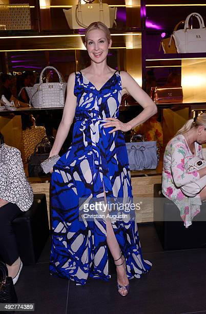 Kelly Rutherford attends Escada Flagshipstore Opening at Kaisergalerie on May 21 2014 in Hamburg Germany