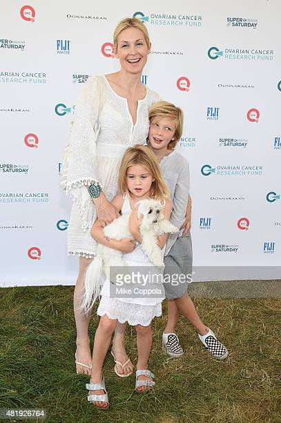 Kelly Rutherford attends OCRF's 18th Annual Super Saturday NY Hosted by Donna Karan and Kelly Ripa on July 25 2015 in Water Mill City
