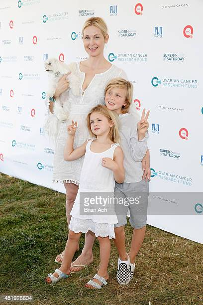 Kelly Rutherford attends QVC Presents Super Saturday LIVE on July 25 2015 in Water Mill New York