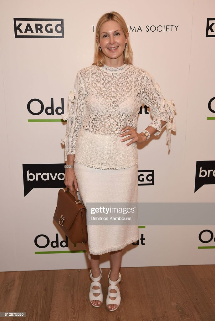 Kelly Rutherford attends The Cinema Society Hosts The Season 3 Premiere Of Bravo's 'Odd Mom Out' at the Whitby Hotel on July 11, 2017 in New York City.