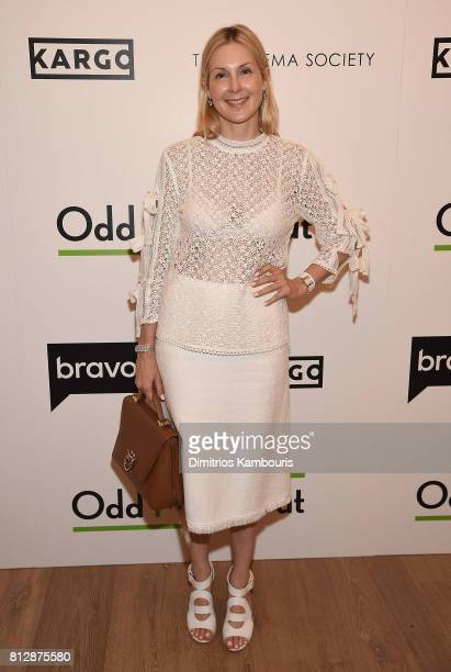 Kelly Rutherford attends The Cinema Society Hosts The Season 3 Premiere Of Bravo's 'Odd Mom Out' at the Whitby Hotel on July 11 2017 in New York City