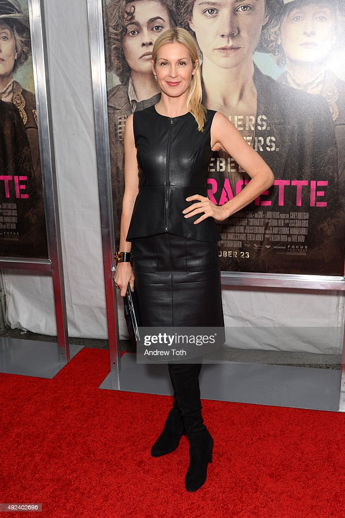 Kelly Rutherford attends the 'Suffragette' New York premiere at Paris Theatre on October 12, 2015 in New York City.