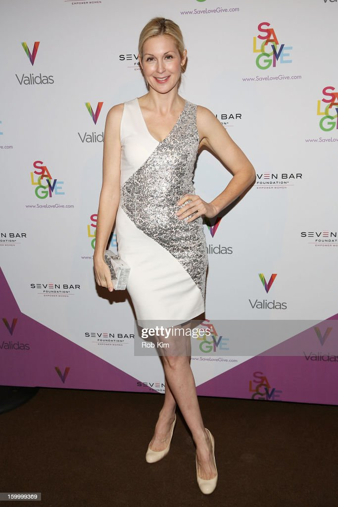 Kelly Rutherford attends the Vera Launch at Ambassadors River View at the United Nations on January 24, 2013 in New York City.