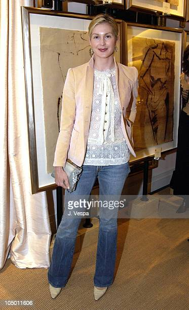 Kelly Rutherford during Greg Lauren Art Show at the Ralph Lauren Store in Beverly Hills at Ralph Lauren Store in Beverly Hills California United...