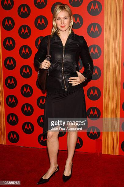 Kelly Rutherford during Motorola's 6th Anniversary Party Benefiting Toys for Tots Arrivals at Music Box Theatre in Hollywood California United States
