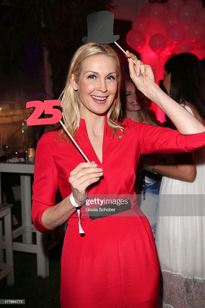 Kelly Rutherford during the Raffaello Summer Day 2015 to celebrate the 25th anniversary of Raffaello on June 20, 2015 in Berlin, Germany.