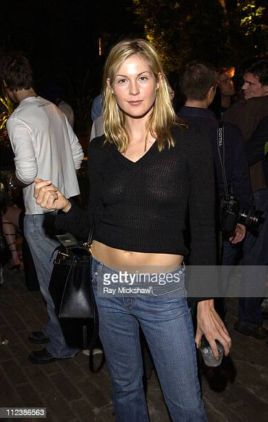Kelly Rutherford during W Magazine and Bacardi Limon Host a Tribute to Vintage Fashion Inside at Chateau Marmont in Hollywood California United States