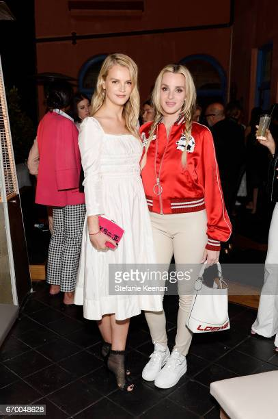 Kelly Sawyer and Katie Nehra attend Tania Fares and Rosetta Getty Together with Eric Buterbaugh Gia Coppola Jacqui Getty Irena Medavoy Jennifer Meyer...