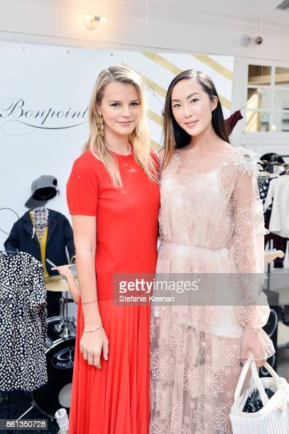 Kelly Sawyer Patricof and Chriselle Lim attend Bonpoint Baby2Baby Celebrate At Au Fudge With Estee Stanley Kelly Sawyer Patricof And Norah Weinstein...
