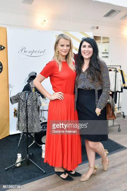 Kelly Sawyer Patricof and Estee Stanley attend Bonpoint Baby2Baby Celebrate At Au Fudge With Estee Stanley Kelly Sawyer Patricof And Norah Weinstein...