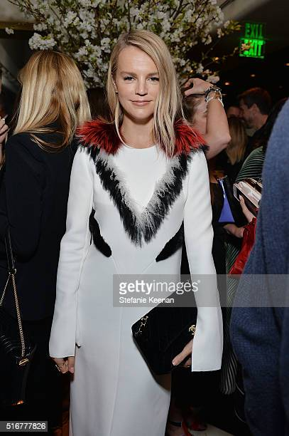 Kelly Sawyer Patricof attends The Daily Front Row Fashion Los Angeles Awards Private Dinner Hosted By Eva Chow And Carine Roitfeld at Mr Chow on...