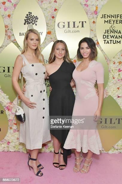 Kelly Sawyer Patricof Jennifer Meyer and Jenna Dewan Tatum attend Giltcom Jennifer Meyer Jenna Dewan Tatum Launch Exclusive Jewelry Collection...