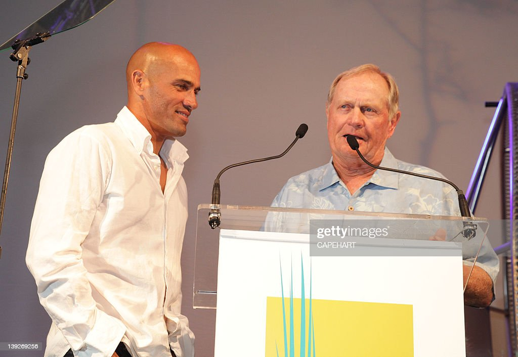 <a gi-track='captionPersonalityLinkClicked' href=/galleries/search?phrase=Kelly+Slater&family=editorial&specificpeople=207101 ng-click='$event.stopPropagation()'>Kelly Slater</a> and <a gi-track='captionPersonalityLinkClicked' href=/galleries/search?phrase=Jack+Nicklaus&family=editorial&specificpeople=93565 ng-click='$event.stopPropagation()'>Jack Nicklaus</a> attend the 7th Annual Everglades Foundation Gala at The Breakers on February 17, 2012 in Palm Beach, Florida.
