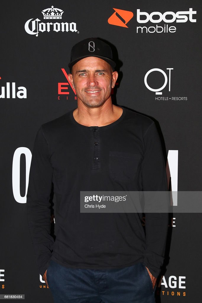 Kelly Slater arrives ahead of the premiere of Proximity The Movie on May 11, 2017 in Gold Coast, Australia.