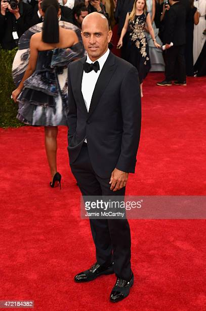 Kelly Slater attends the 'China Through The Looking Glass' Costume Institute Benefit Gala at the Metropolitan Museum of Art on May 4 2015 in New York...
