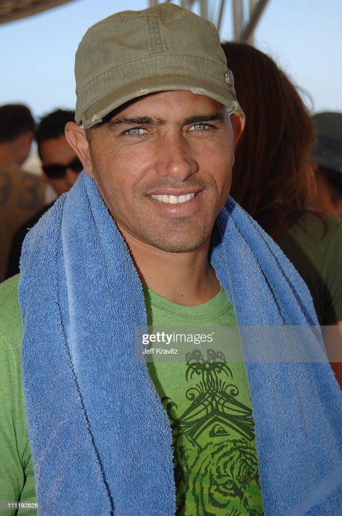 Kelly Slater during Boost Mobile Surf Competition at The Trestles September 16 2006 in Orange County California United States