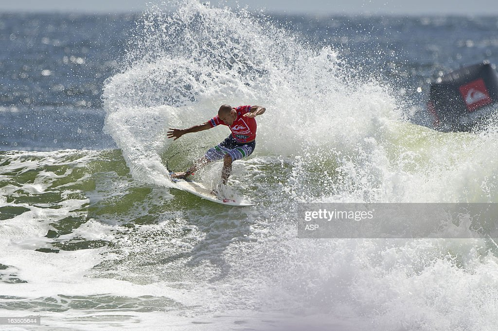 Kelly Slater of the USA in action during the Quiksilver Pro on March 11, 2013 in Gold Coast, Australia.