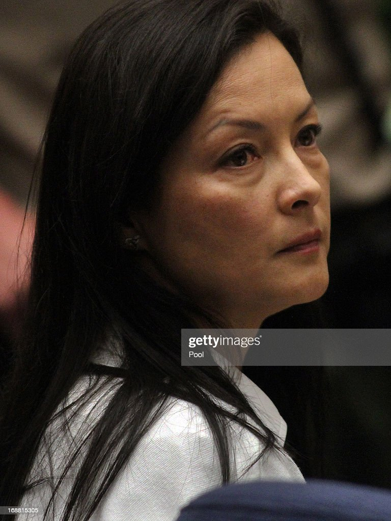 Kelly Soo Park listens to her attorney George Buehler make opening statements on May 15, 2013 in Los Angeles, California. Park is charged with the killing of aspiring model and actress Juliana Redding in 2008.