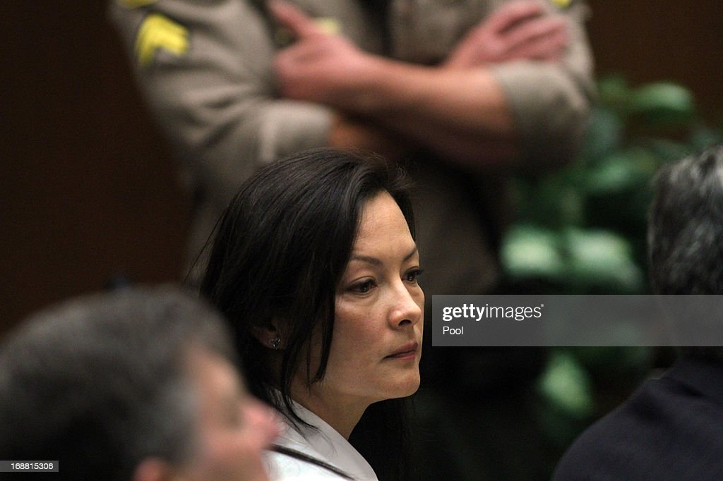 Kelly Soo Park listens to opening statements in her murder trial on May 15, 2013 in Los Angeles, California. Park is charged with the killing of aspiring model and actress Juliana Redding in 2008.