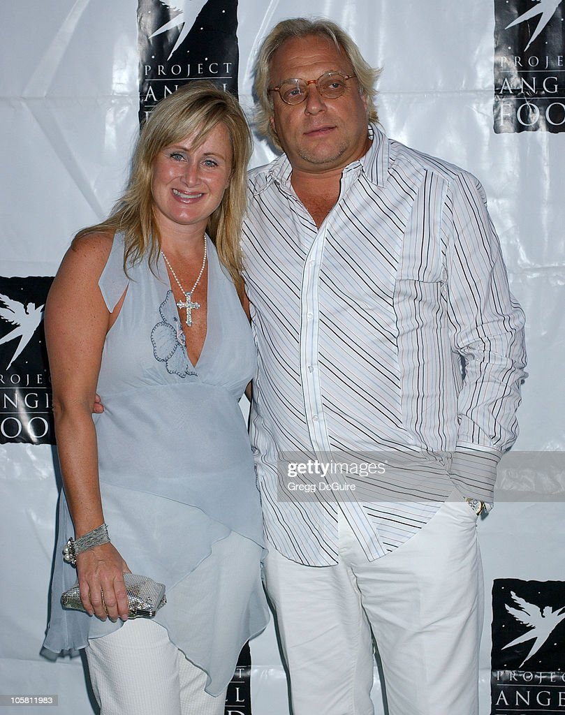 Kelly Stone and Bruce Singer during 11th Annual Angel Awards - Arrivals at Project Angel Food in Los Angeles, California, United States.
