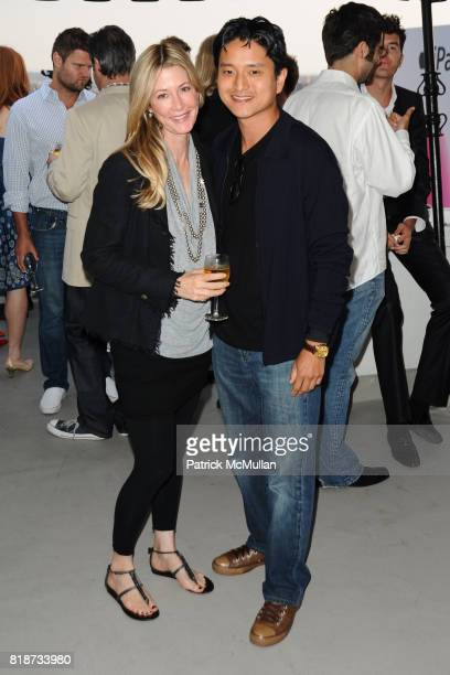 Kelly Styne and John King attend Bret Easton Ellis to celebrate the publication of his new novel IMPERIAL BEDROOMS at Penthouse on June 10 2010 in...