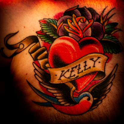 K And M Tattoo Tattoos Stock Photos and Pictures | Getty Images