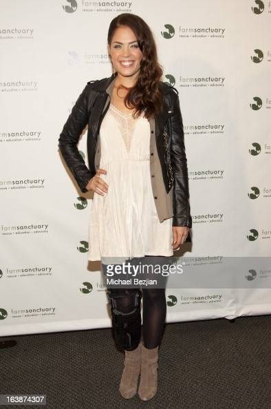 Kelly Thiebaud attends 'Fun For Animals' Celebrity Poker Tournament and Cocktail Party at Petersen Automotive Museum on March 16 2013 in Los Angeles...