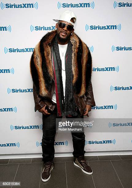 R Kelly visits at SiriusXM Studio on December 20 2016 in New York City