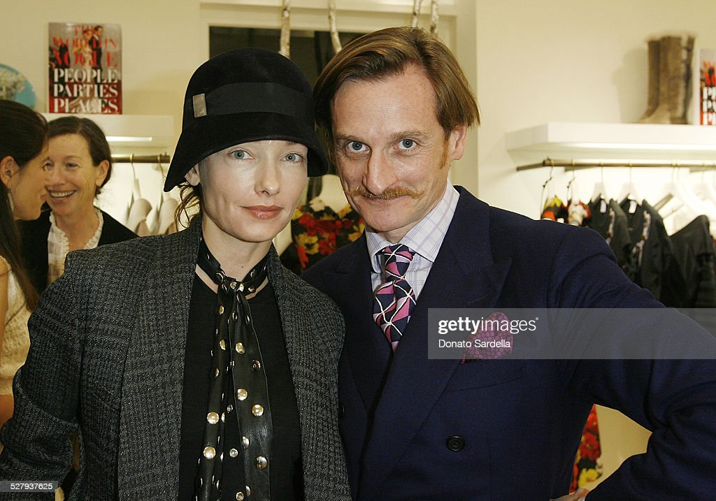 The World in Vogue: Oscar de la Renta Book Signing Party with Hamish Bowles