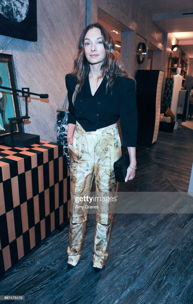 Kelly Wearstler attends Kelly Wearstler hosts 'The Authentics' book signing launch party for Melanie Acevedo and Dara Caponigro at Kelly Wearstler Boutique on December 6, 2017 in West Hollywood, California.