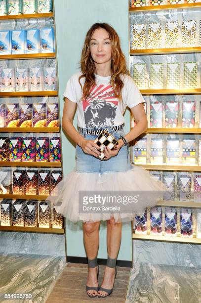 Kelly Wearstler celebrates the Compartes Chocolatier Century City Flagship Store Opening on September 27 2017 in Los Angeles California
