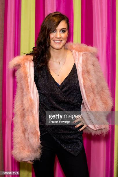 Kelly Wenham attends the UK premiere of 'Double Date' at The Soho Hotel on October 10 2017 in London England